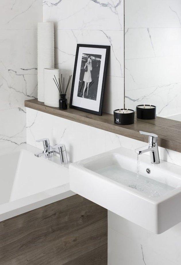floating sink storage