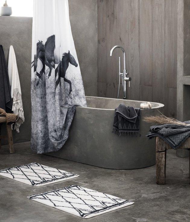 h&m bath mat