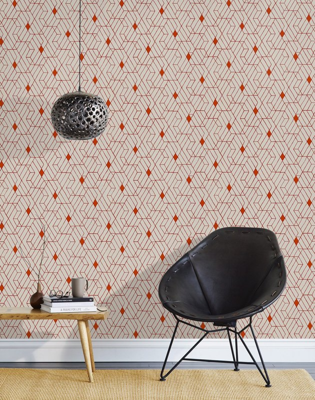 Hygge & West wallpaper.