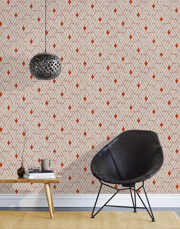 Hygge & West wallpaper.