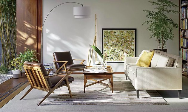 crate and barrel arc lamp