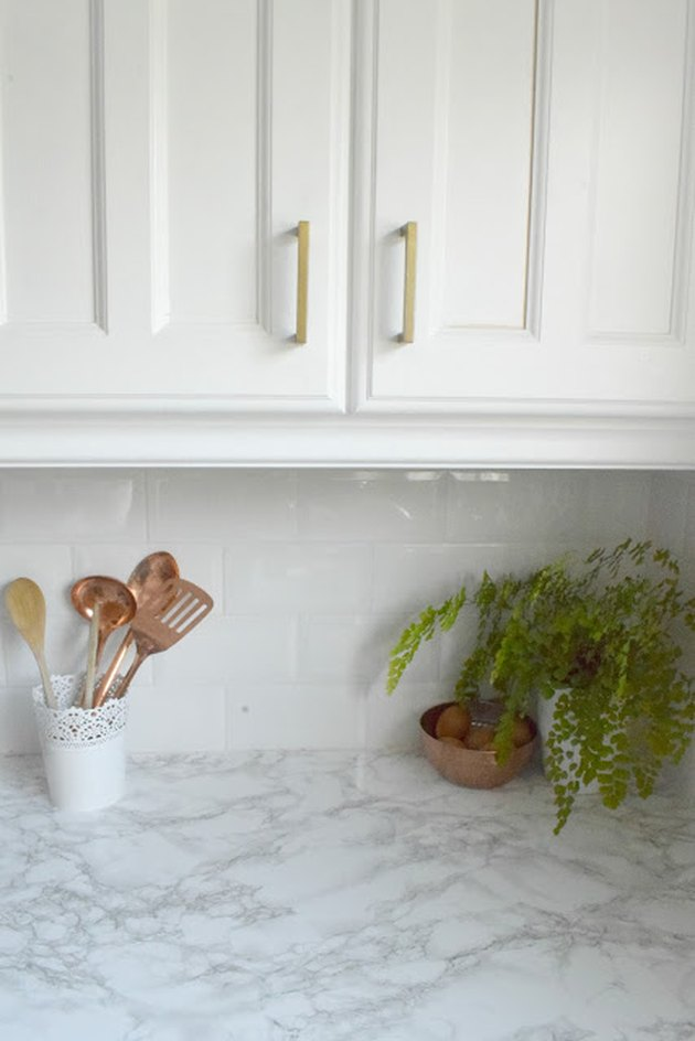 Faux Marble Countertop DIY