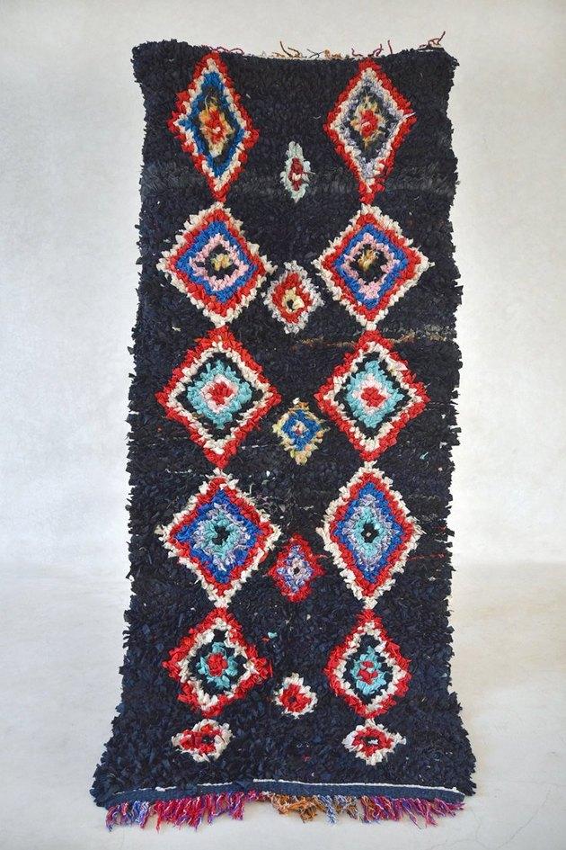 The Gardener's House boucherouite rug.