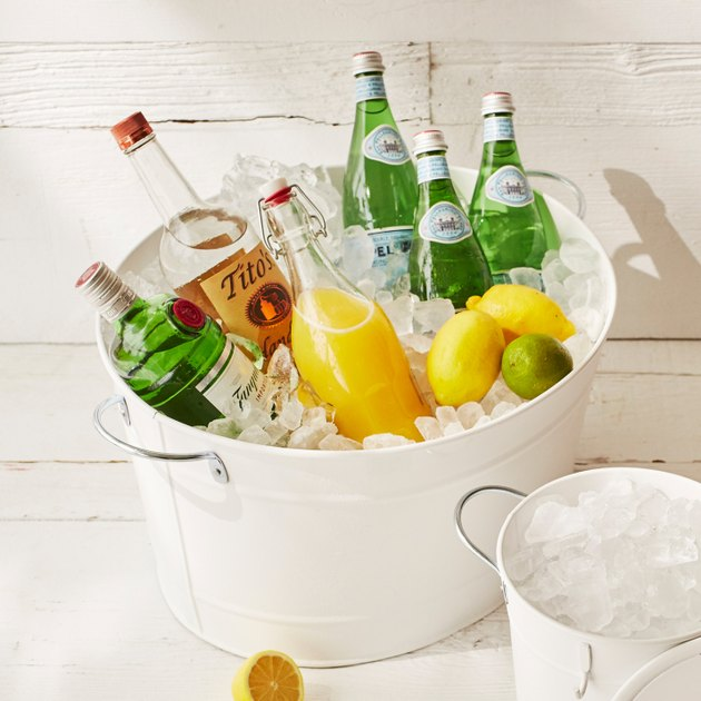 Galvanized Steel Beverage Bucket