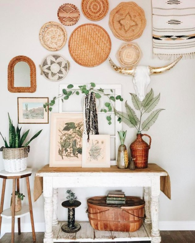15 Boho-Chic Ways To Incorporate Greenery Into Your Home