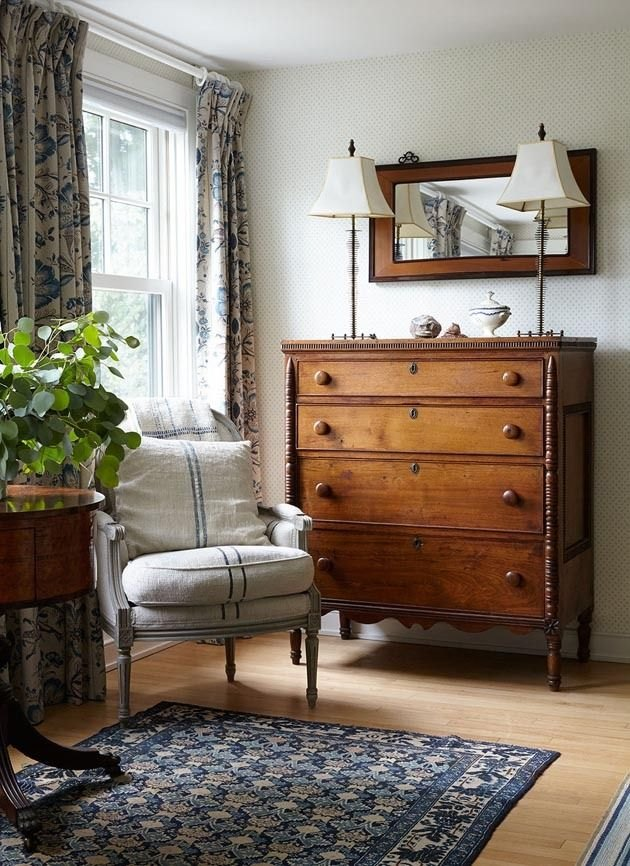vintage wood furniture