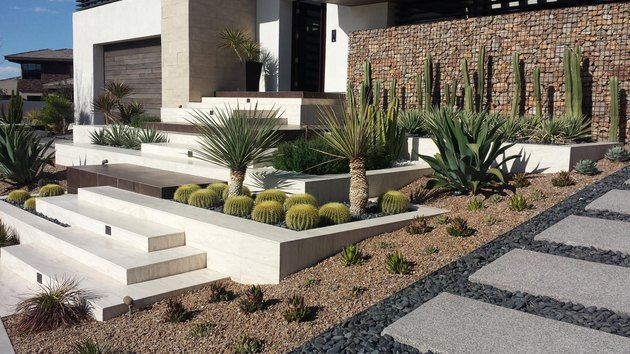 Tiered landscape design