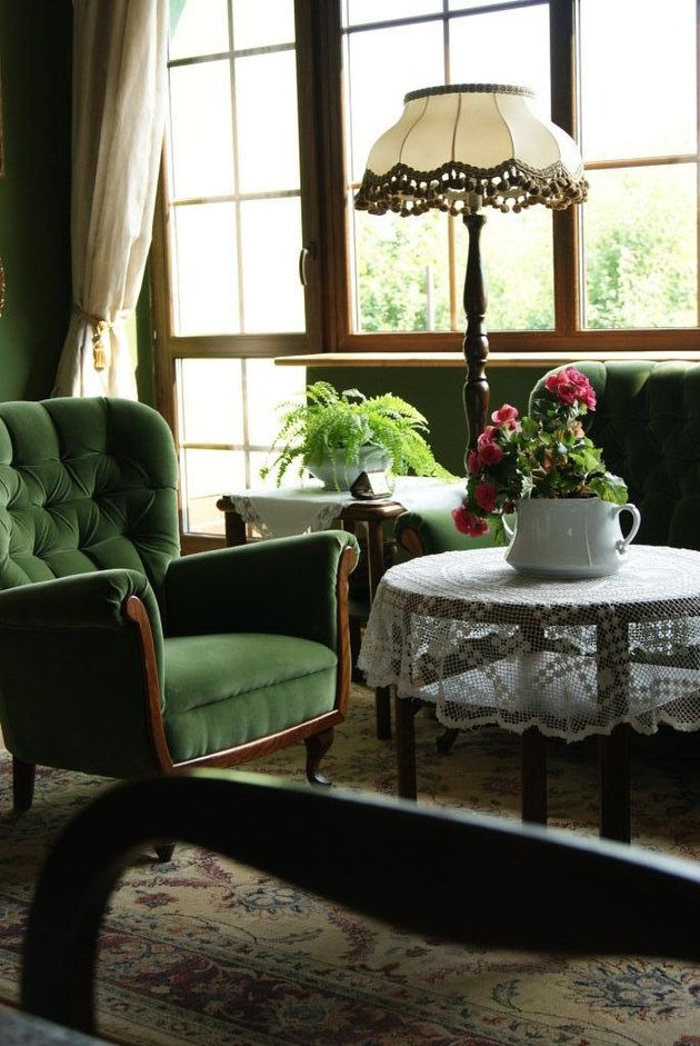 English country style Queen Anne and Victorian style furniture