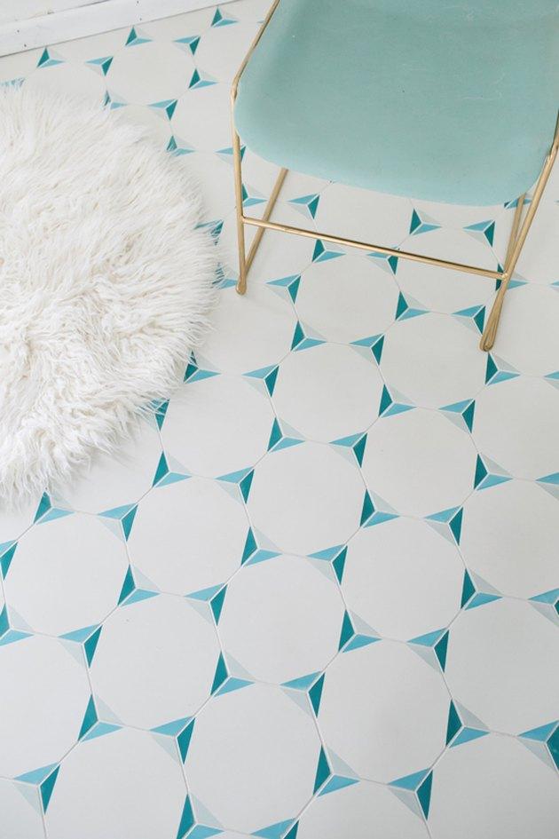 cement tile floor
