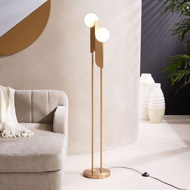 west elm bower floor lamp