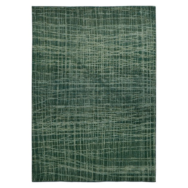 Forrest green area rug