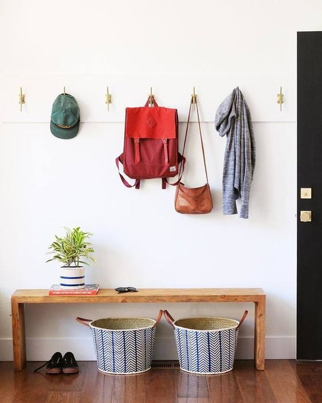 How to Create an Entryway When Your Home Doesn't Have One