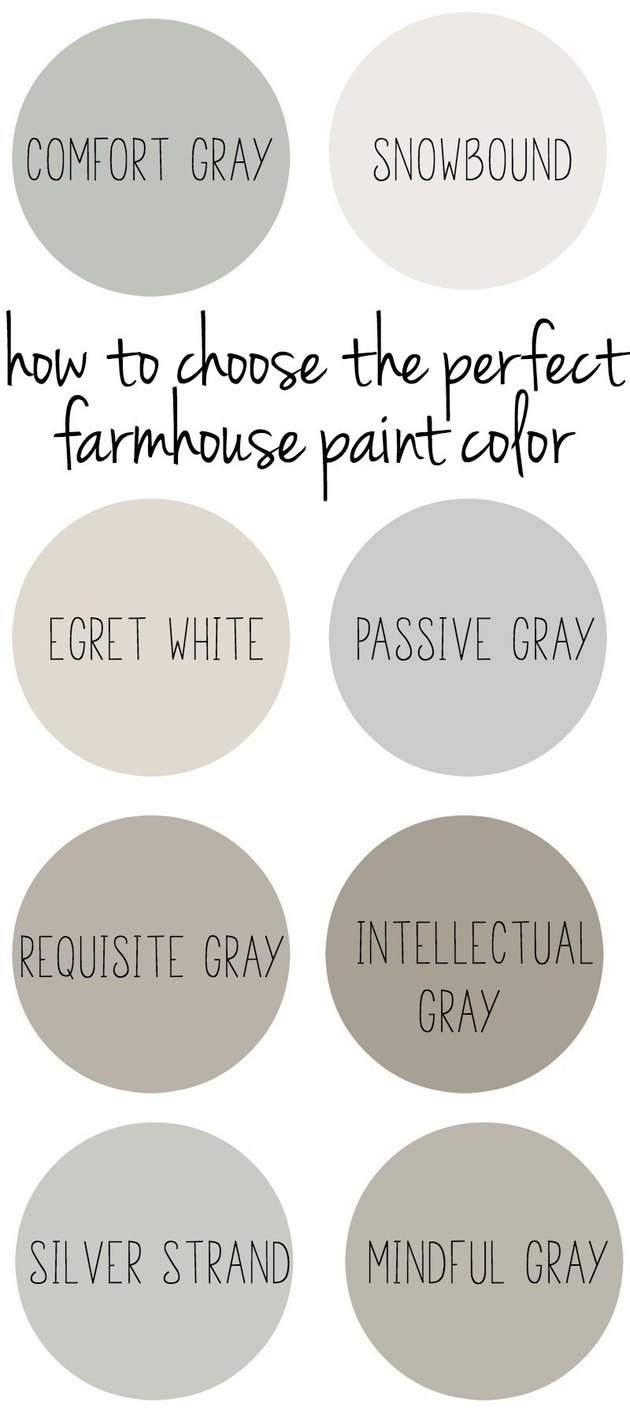 How to Choose the Perfect Farmhouse Paint Color