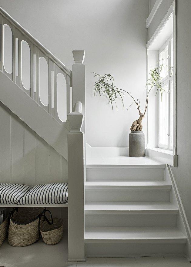 minimalistisch interieur trap