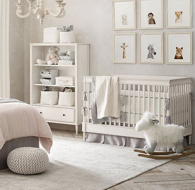 animal print art nursery