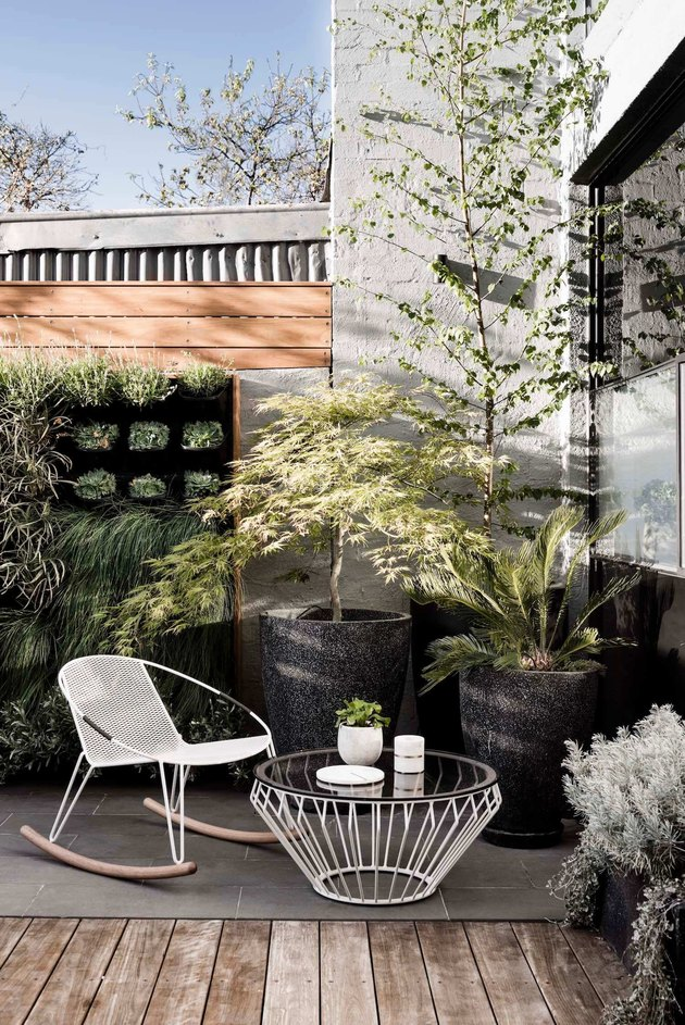 outdoor nook chair