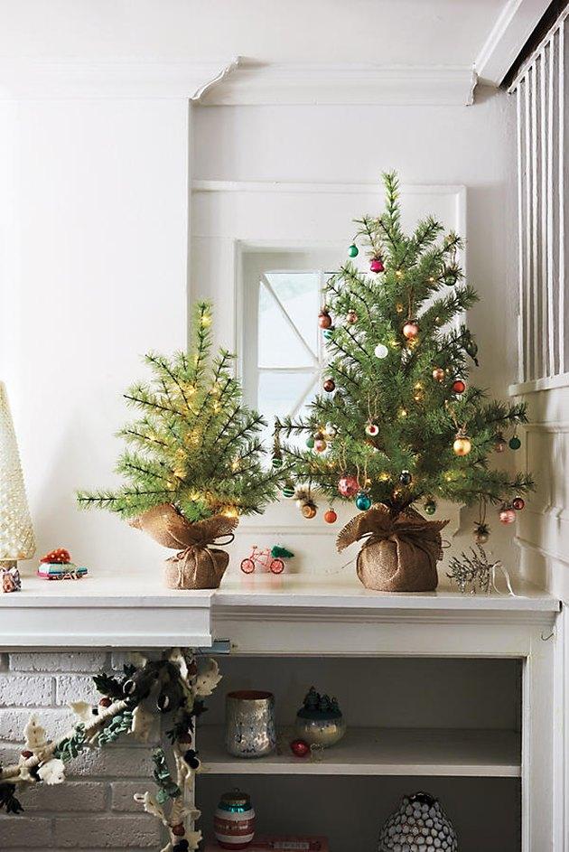 christmas tree alternative mini tree