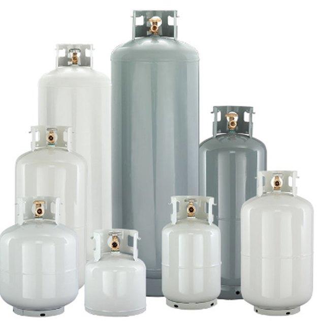 Selection of propane tanks.
