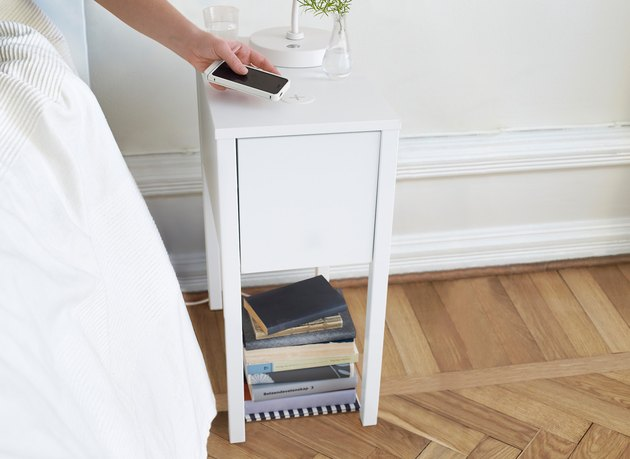 ikea wireless nightstand