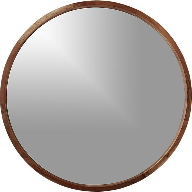 Sustainable Wood Mirror