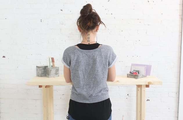 Building your own desk means tailoring it to your exact height
