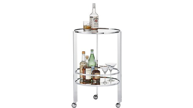 Cb2 Chrome Bar Cart