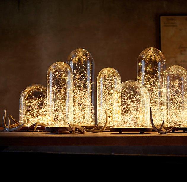 led lights and glass