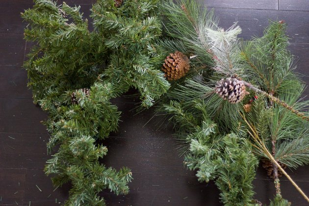 Garland and greenery
