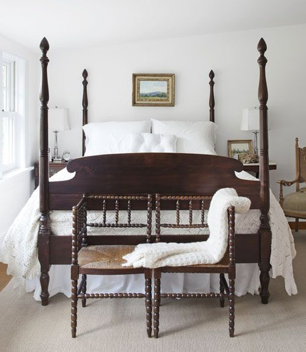 four poster bed english bedroom