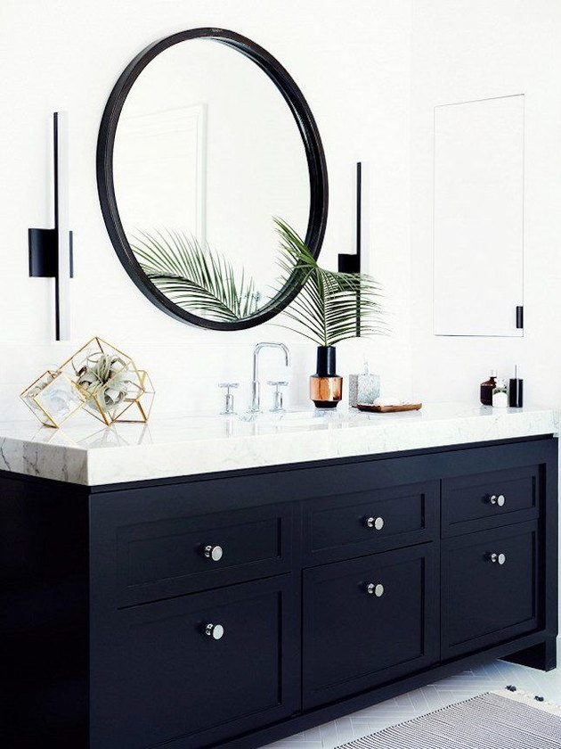 bold bathroom vanity