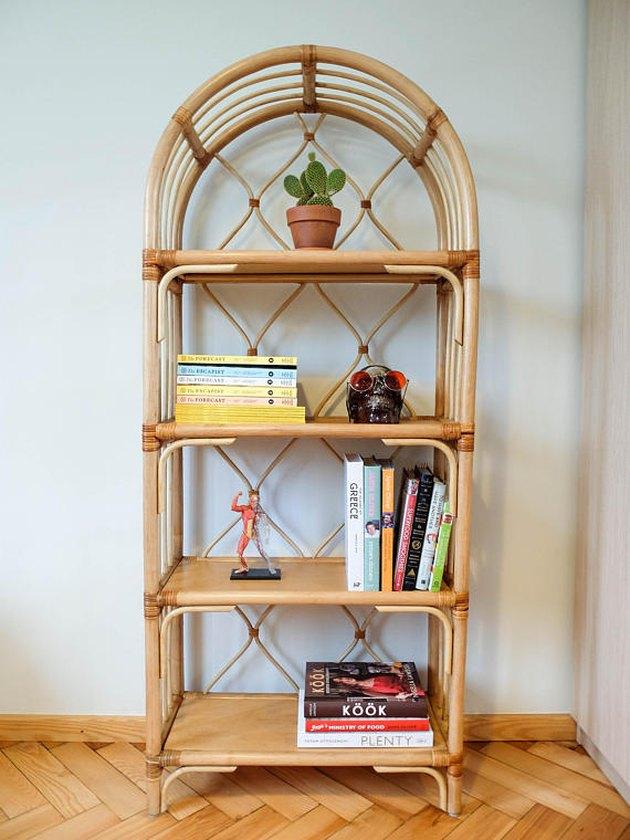 Rattanchic rattan bookshelf.