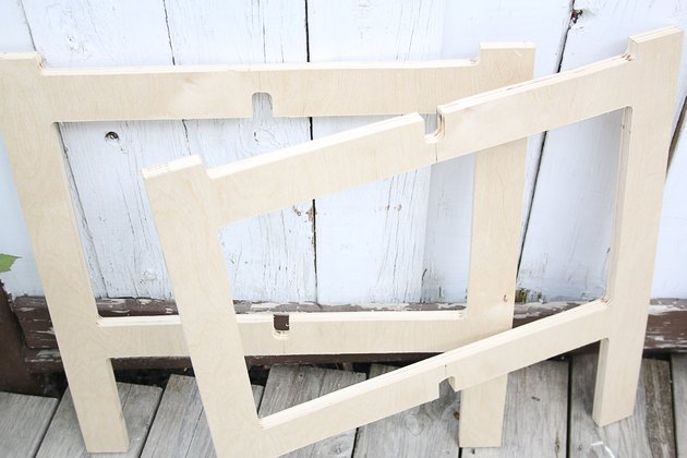 table legs with notches cut out