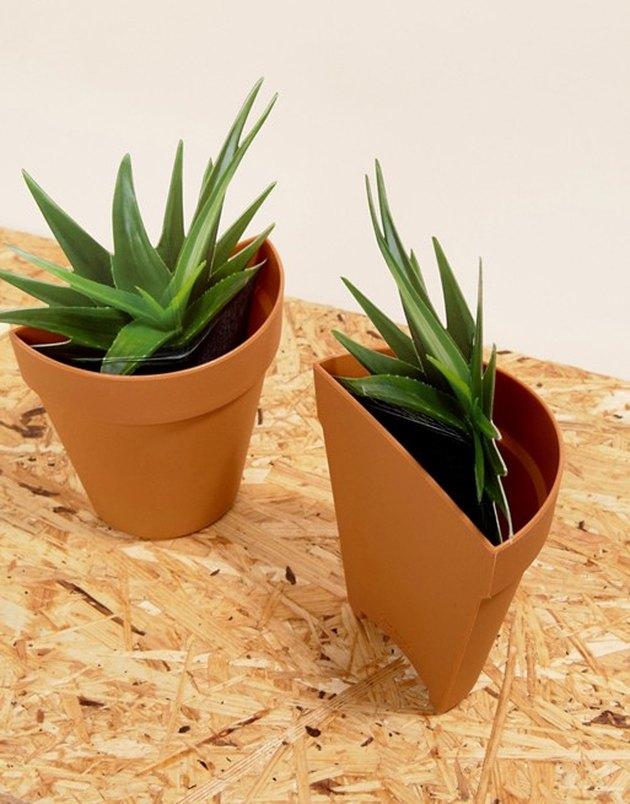 SUCK Plant Planter Bookends