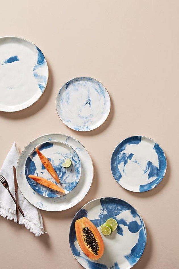Anthropologie Strata Dinnerware Set