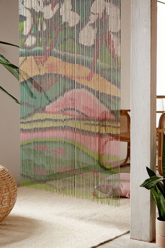 urban outfitters beaded curtain