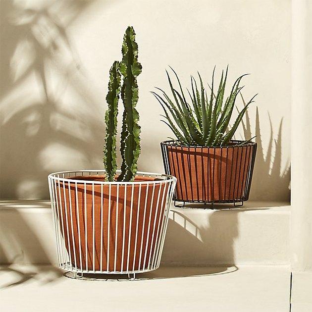 wire planter
