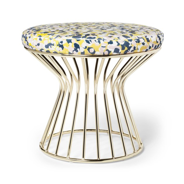 patterned stool