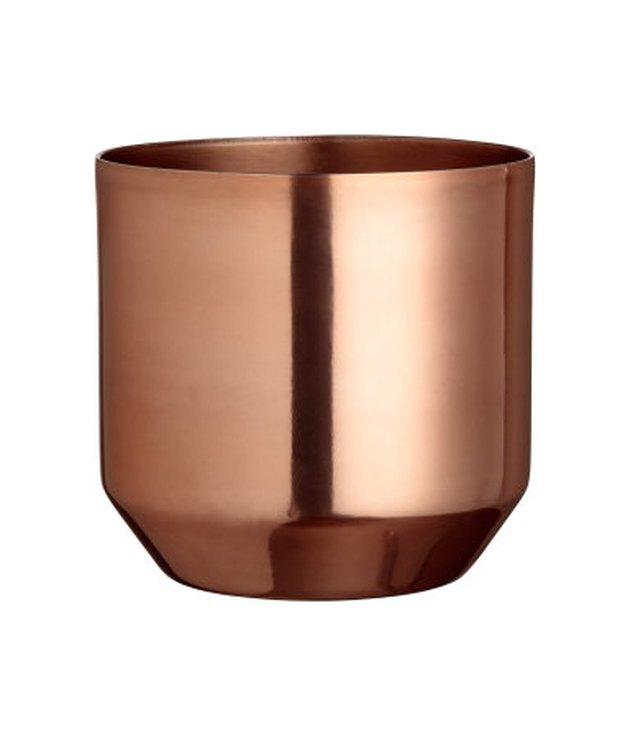 H&M metal pot.