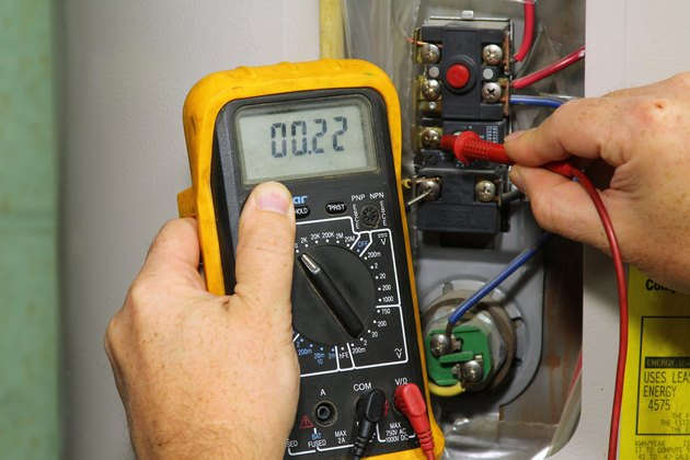 How To Test An Electric Hot Water Heater Thermostat Hunker