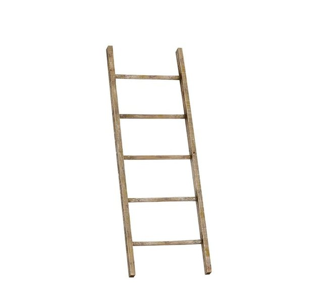 Wooden ladder for towel rack