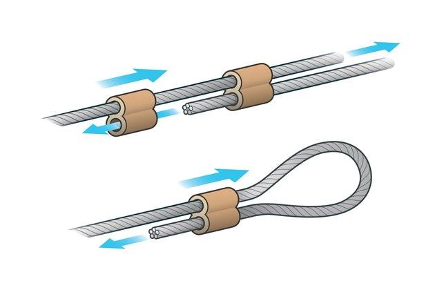 wire rope ferrule China LG Supply