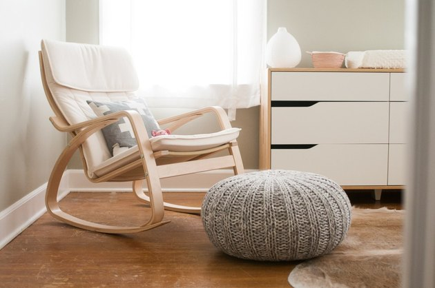 Scandinavian style rocking chair