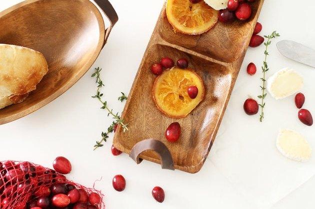 wooden platter Diy