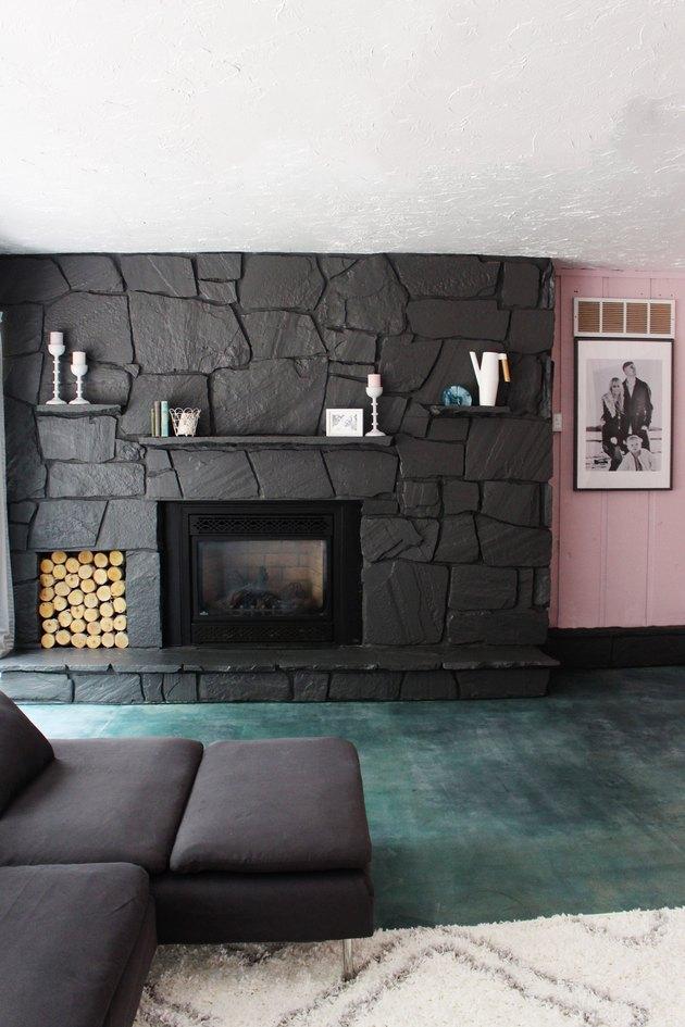 how to acid stain a concrete floor hunker. Black Bedroom Furniture Sets. Home Design Ideas
