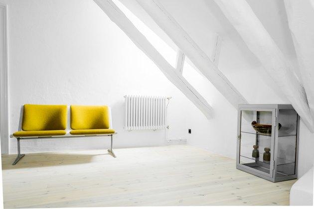 yellow seat steel box shelves