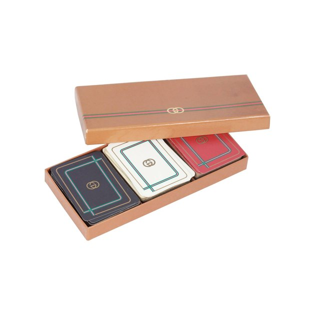 gucci playing cards