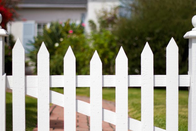 Calculating even spacing is important for building fence pickets