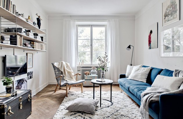 Scandinavian style living room