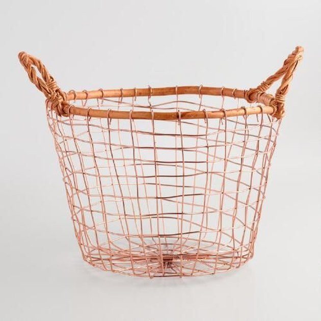 Copper Storage Basket