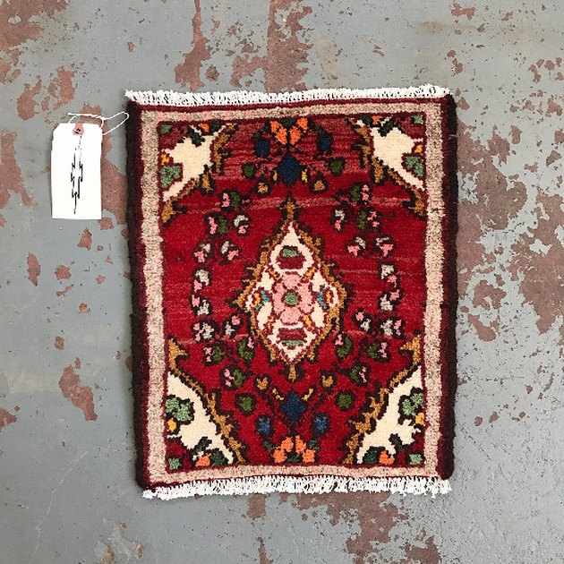 Tyler Kingston vintage Persian rug.